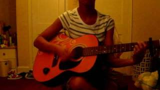 Kristina (babygirlkkelee) Purify Me (India Arie) guitar cover
