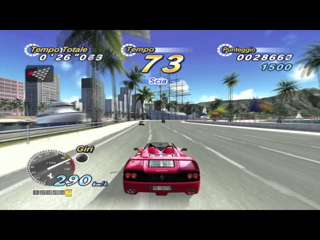 Outrun 2006 Coast 2 Coast PC 1080p HD gameplay - 30fps / 60fps footage