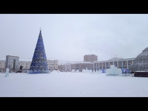 Winter -43C in Yakutsk, Russia (Siberia)