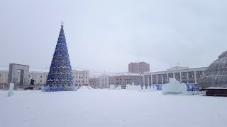 Winter -43C in Yakutsk, Russia (Siberia)