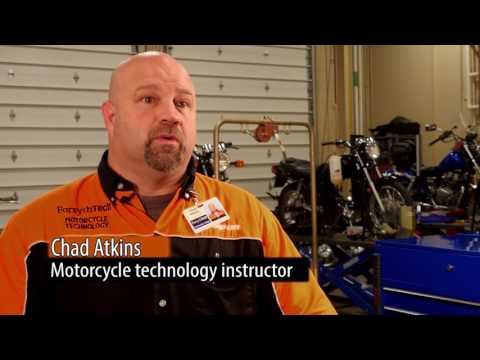 Motorcyle mechanics Program at Forsyth Technical community college