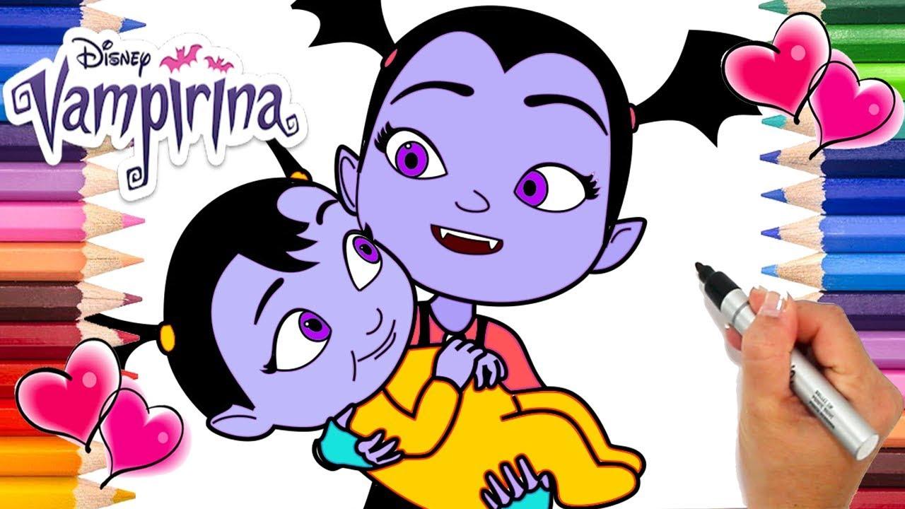 Vampirina Babysitting coloring
