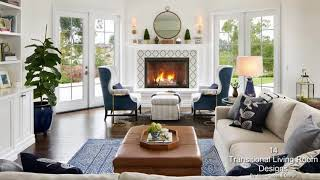14 Spectacular Transitional Living Room Designs You Must See