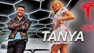 Tanya in Tesla