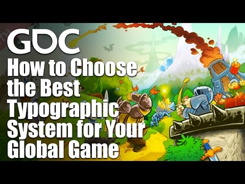 How to Choose the Best Typographic System for Your Global Game
