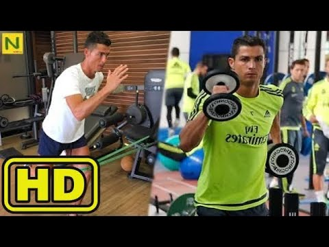 Ronaldos Physical Training And Artistic Body