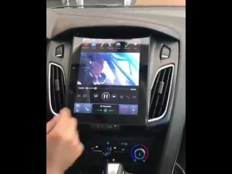 Ford Focus Tesla Vertical Screen Indash Auto Navigation Multimedia Stereo With Android 6 0 Os