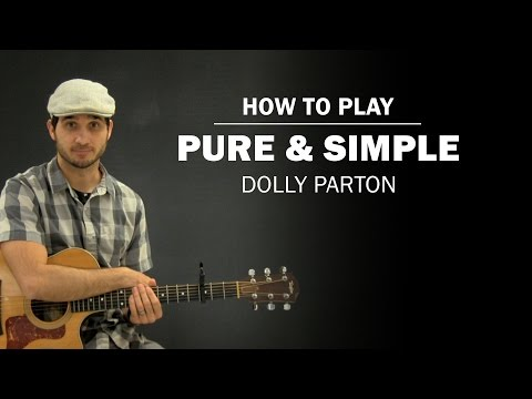 Pure And Simple (Dolly Parton) | How To Play | Beginner Guitar Lesson