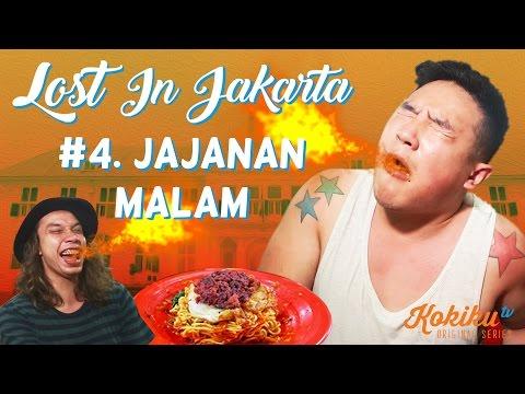 LOST IN JAKARTA #4: Jajanan Malam & Indomie Abang Adek Challenge feat. Awesome Eats & Gerry Girianza