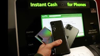 How Much Will Eco Atm Machine Give Me for Samsung Galaxy Fold vs iPhone 11 Pro vs Note 10?