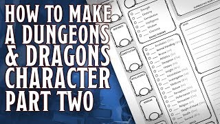 Part 2 - How to make a Dungeons & Dragons 5th Edition Character (Ability Modifiers, Traits & HP)