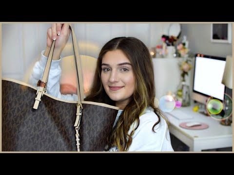 what's in my purse? (Michael Kors Jet Set) | Amber Greaves