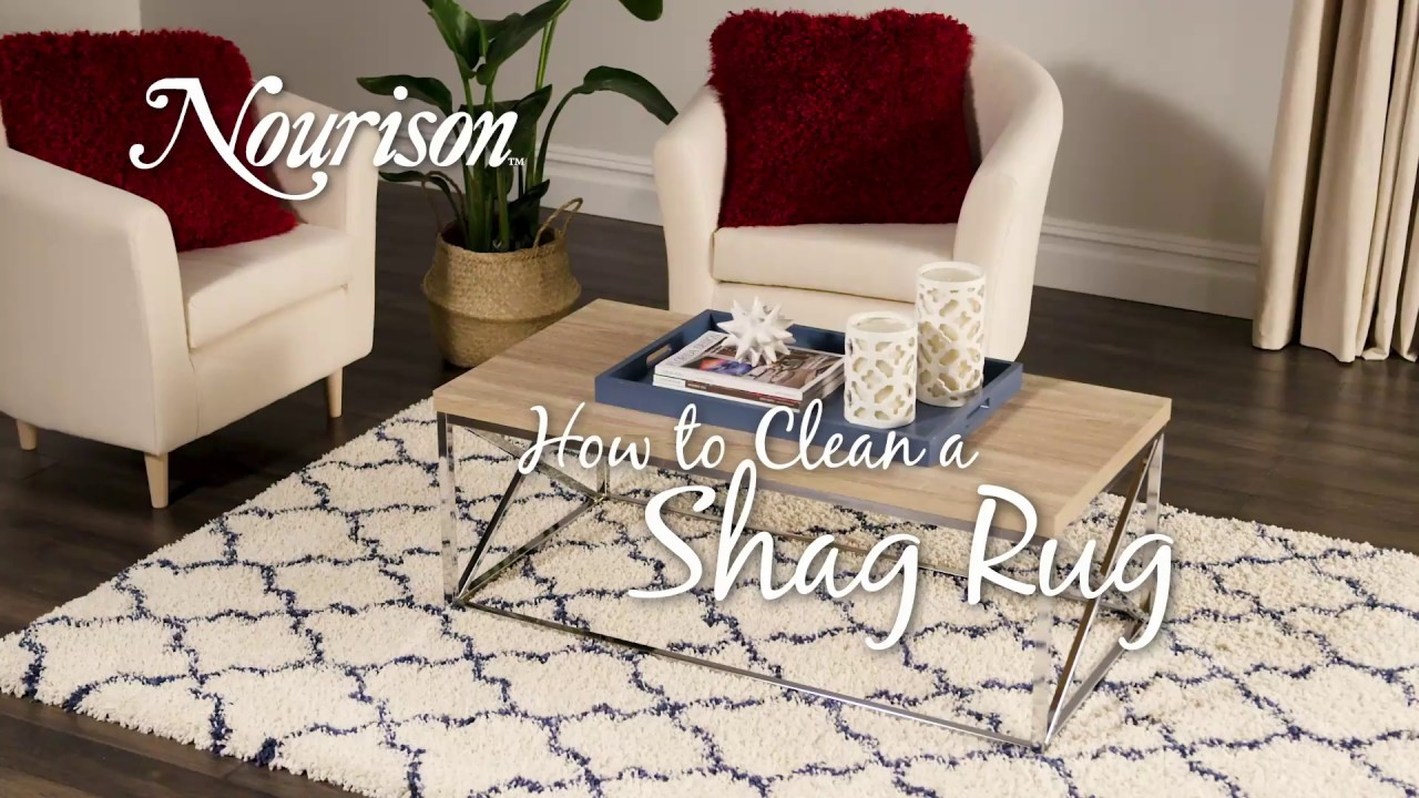 How to Clean a Shag Rug - YouTube