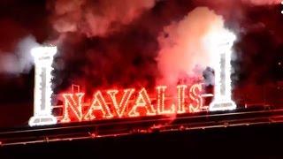Navalis 2017 - pyromuzikální ohňostroj ignis, aer, terra et aqua