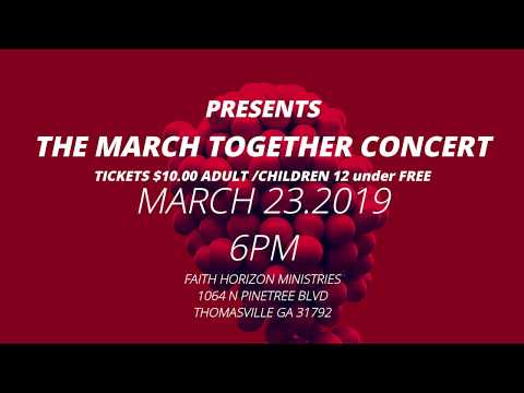 THE MARCH TOGETHER CONCERT