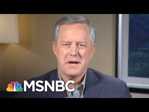Rep. Mark Meadows: The President Is No Racist | Kasie DC | MSNBC