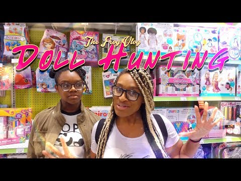 The Frog Vlog: DOLL HUNTING At Toys R Us | Barbie Monster High | Littlest Pet Shop & More