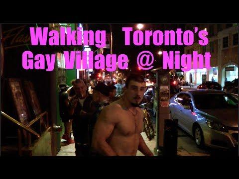 Walking Toronto's Gay Village @ Night