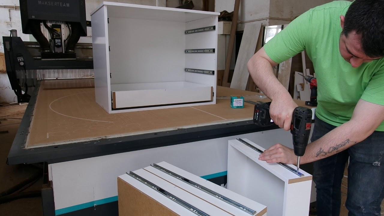 Güney Mobilya 180 cm Sürgülü Gardırop Ray Dolap Montajı nasıl yapılır?