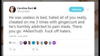 Ice Poseidon & Caroline Burt Break Up - Cheating? GreekGodX