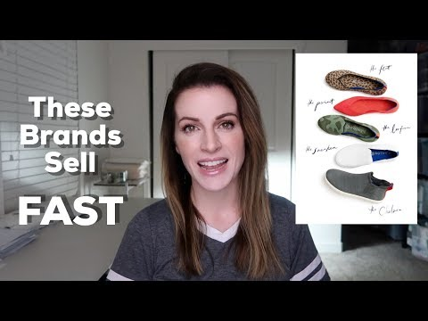Brands That Sell FAST On Ebay! My Top Brands I Always Look For At The Thrift