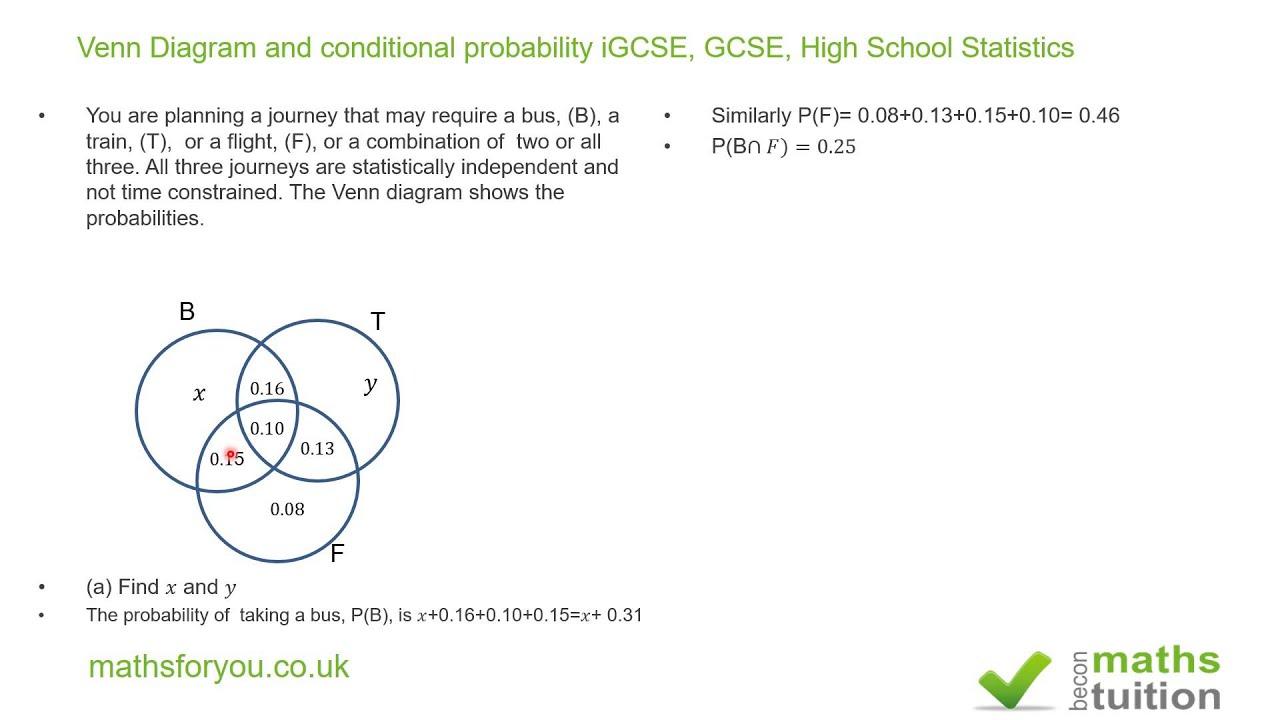 Probability Tree Diagram Example Problems
