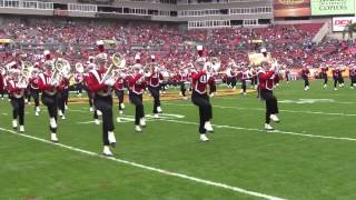 Wisconsin Marching Band Outback Bowl Pre Game 1 1 2015