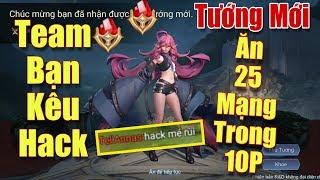 [Gcaothu] Test tướng mới Keera bị team bạn tố cáo hack vì ăn 25 mạng trong 10 phút
