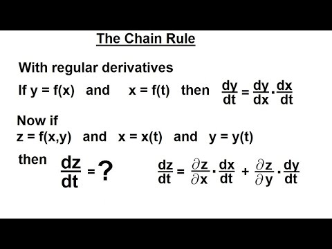 calculus 3 partial derivative 24 of 50 the chain rule youtube. Black Bedroom Furniture Sets. Home Design Ideas