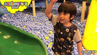 Massive BALL PIT Playground for toddlers - Playtime with kids toys and Skyheart children