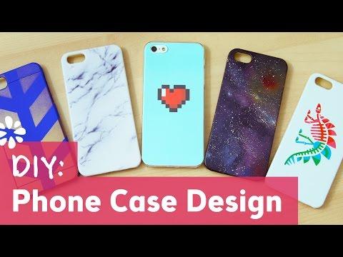 5 DIY Phone Case Designs | Sea Lemon