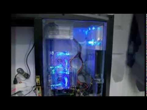 how to DIY plexiglass PC case  YouTube