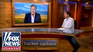 Piers Morgan joins 'Tucker Carlson Today' for first interview since 'cancelation' | Preview