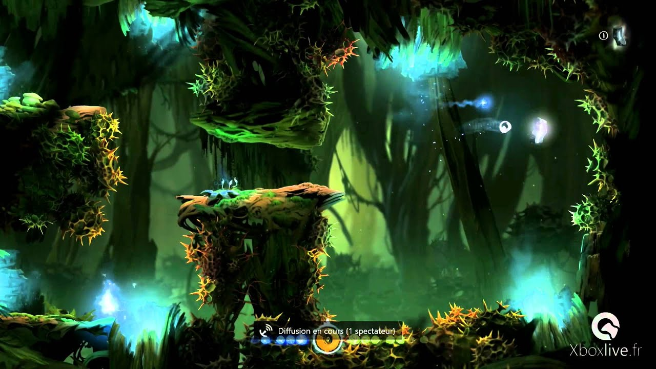 Ori And The Blind Forest Succ 232 S Quot Voltigeur Quot Quot Airborne