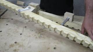 Струбцины с хомутным упором для склейки мебельного щита