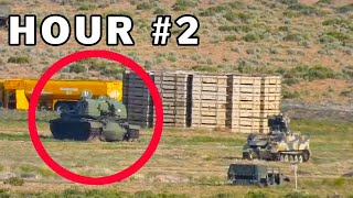 Surviving 24 Hours In A Military Base (BIZARRE ENCOUNTER)