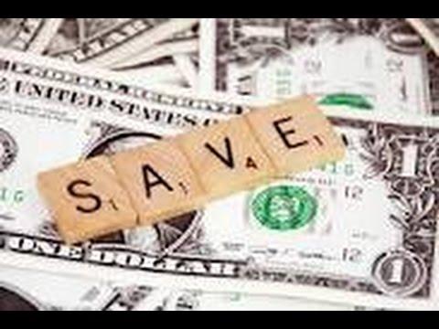 Saving Money Makes No Sense...