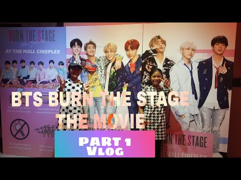 BTS BURN THE STAGE:THE MOVIE (Showing in BRUNEI) || TAGALOG Vlog  Part 1