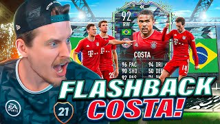 NOT TOTS WAMAN?! 92 FLASHBACK COSTA PLAYER REVIEW! FIFA 21 Ultimate Team
