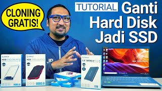 Ganti Harddisk Laptop Jadi SSD: Tutorial Step-by-Step, Feat. Orico External Drive Enclosure
