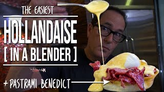 Quick and easy hollandaise sauce, in a blender! Including my 'secret' ingredient... (*hint: it's Sriracha) SUBSCRIBE: http://bit.ly/stcgsub | MERCH: ...