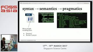 Legalese: Software Eats Contract Drafting - Virgil Griffith - FOSSASIA Summit 2017