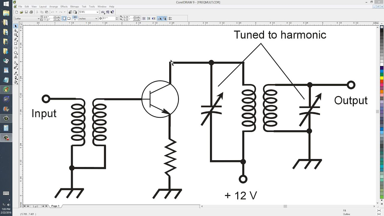 Frequency Doubler Circuit Crystal Oscillator Diagram Tradeoficcom A Simple Multiplier Youtube 1280x720