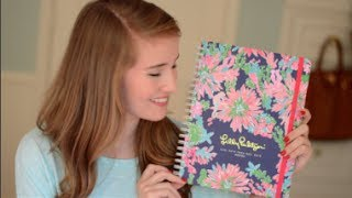 Lilly Pulitzer 2014-2015 Planner Review
