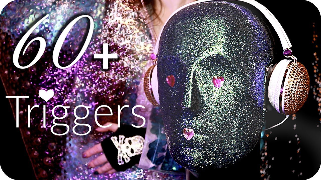 ASMR 60+ Sparkly Triggers over 3.5 Hours ✨ (NO TALKING) Intense Relaxing Ear to Ear Sounds