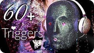 ASMR 60+ Triggers over 3.5 Hours ✨ (NO TALKING) Intense Relaxing Ear to Ear Sleep Sounds thumbnail