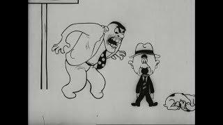 Агитационный мультфильм СССР 1931 год. УЛИЦА ПОПЕРЕК!