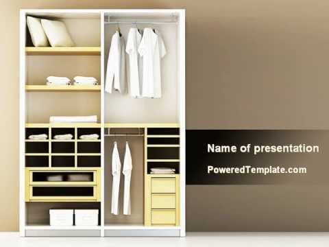modern furniture powerpoint templatepoweredtemplate - youtube, Presentation templates