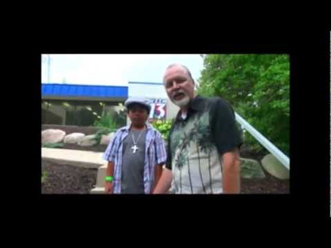 Sam Santiago at WZZM TV Grand Rapids