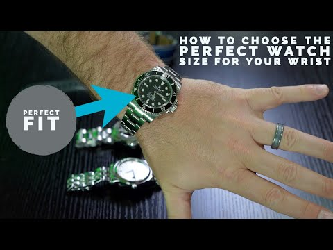 How To Choose The Best Watch Size For Your Wrist